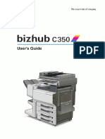 Bizhub c350 Manual Full