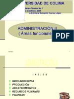 ADMINISTRACIÓN II ( PRODUCCION )