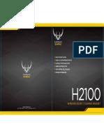 Corsair Gaming H2100 Quick Start Guide