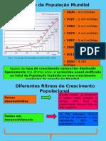 Analise Demográfica e Envelhecimento