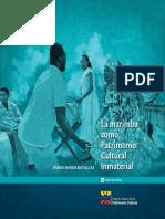 La Marimba Patri Cultural in Material