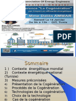 Aee _ Cogeneration Dalila Ammar 14-01-2017