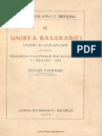 Unirea Basarabiei  Studiu şi documente cu privire la mişcarea naţională din Basarabia în anii 1917-1918.pdf