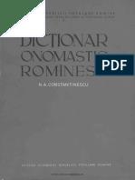 Dicţionar onomastic romînesc.pdf
