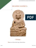 El Verdadero Maitreya
