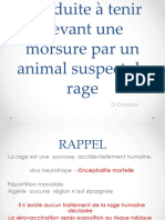 Infectieux4an Cat Devant Morsure Par Animal Suspect de-rage