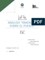 Analisis Panorama Sobre El Puente Final