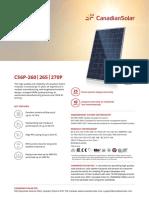Canadian Solar Datasheet CS6P P v5.53en