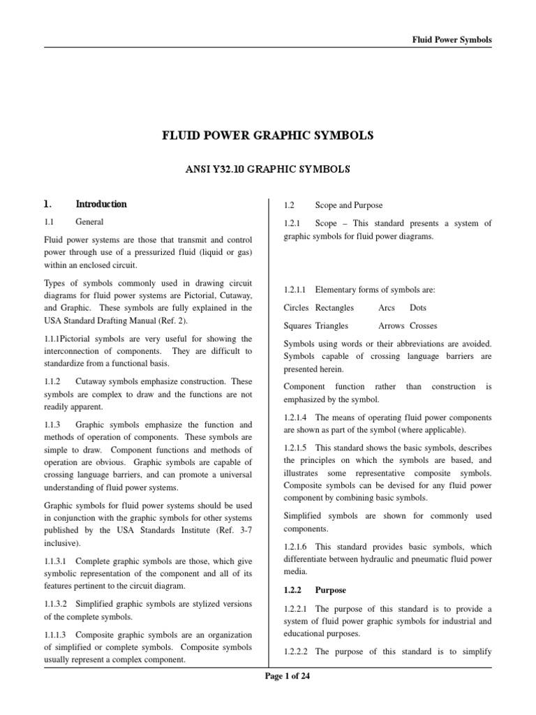 Fluidpowersymbolspdf Valve Pump