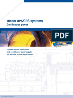 Hitec Diesel Rotary Uninterruptible Power Supply UPS