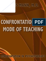 Confrontation as a Mode of Teaching - James Mann m d