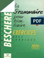 La grammaire pour bien écrire avec corrigés .pdf