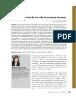 BR-2009 Declaração Prévia de Vontade Do Pct Terminal