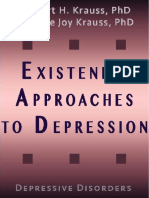 Existential Approaches to Depression