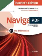 Krantz Caroline Norton Julie Navigate b1 Pre Intermediate Co