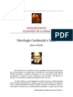 Psicología Occidental e India