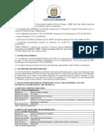 Prorh - Edital Nº 073-2015- Teste Seletivo Agente UniversitÁrio
