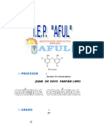MODULO 3º 2007 - QUIMICA ORGANICA - Juan Farfán.doc
