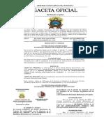 Ley de La Administración Pública Del Edo. Bolivariano de Cojedes (2015)