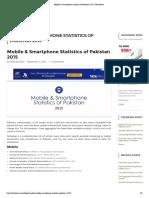 Mobile & Smartphone Statistics of Pakistan 2015 _ Twittistaan
