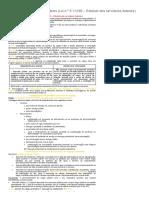 Cadernos para Concursos_ Servidores Públicos Estatutários (Lei n.° 8