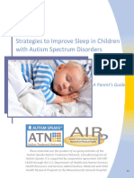 Strategies to Improve Sleep in Children With ASD