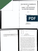 Villavicencio, El Payo, Defensa de Los Vendedores de Papeles (1823)