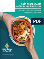 Guia Alimentaria para la Población Uruguaya / Ministerio de Salud Pública (Uruguay)