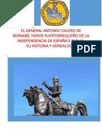 El General Antonio Valero de Bernabe