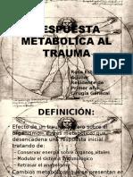 respuesta metabolica al trauma