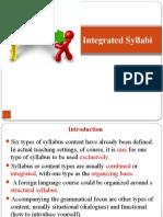 Integrated Syllabus