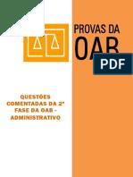 QuestSes Comentadas de Administrativo_2 Fase