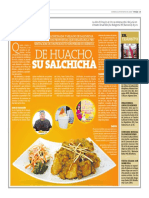 De Huacho, su salchicha