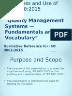 ISO 9000 Awareness Presentation 8-27-15