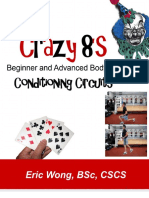 Crazy 8 Body Weight Circuits