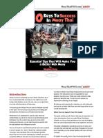 Muay Thai PROS 10 Keys to Success