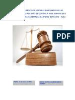 Estado de Los Procesos Judiciales a 30 de Junio de 2013 y Otros