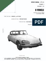 1974 Citroen d Volume 2 814-2