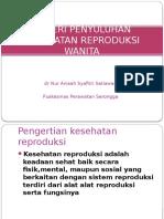 Materi Penyuluhan Kesehatan Reproduksi Wanita