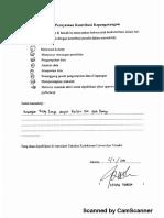 Surat Kontribus Kepengarangan Penulis