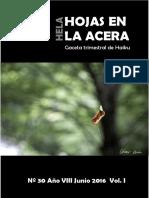 Hojas en La Acera Nro 30.1