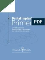 SSDC Implant Flyer
