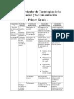 Malla curricular de Tecnologías de la Información y la Comunicación PRIMERO.docx