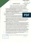 Notice PDF Provost