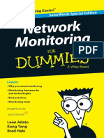 Network Monitoring for Dummies SolarWinds Special Edition