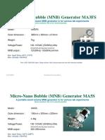 All in One Micro-Nano Bubble Generators - RAINFOREST