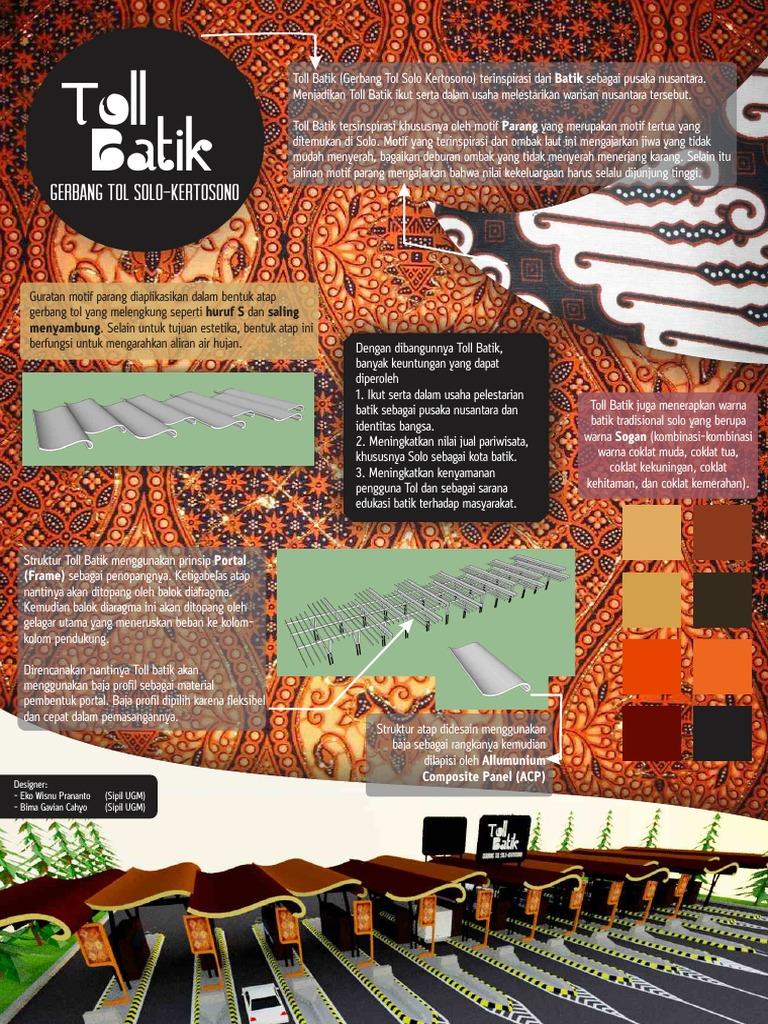Poster Batik Toll