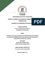 Diseño de Un Plan Estratégico de Marketing Para Potenciar Los Servicios Administrativos Del Instituto de Postgrado y Educación Continua de La Unemi