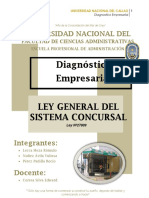 DIagnostico Ley Concursal