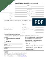 Design Manual 4 Order Form